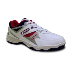 Spesifikasi Fans Veyron R Sepatu Olahraga Tenis Pria Putih Merah Fans Terbaru