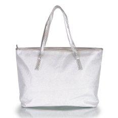 Farrel 3D Snow Totte Bag - White