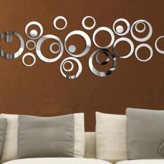 Harga Fashion 24 Pcs Circular Wall Sticker Decal Poster Diy Room Art Dekorasi Rumah Dekorasi Oem Original