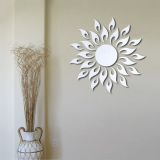 Harga Fashion Sun Flower Wall Sticker Decal Poster Diy Room Art Dekorasi Rumah Dekorasi Oem