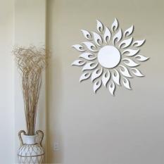 Beli Fashion Sun Flower Wall Sticker Decal Poster Diy Room Art Dekorasi Rumah Dekorasi Oem