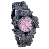 Beli Fashion Women Bangle Stainless Steel Bracelet Quartz Wrist Watch Vintage Watches