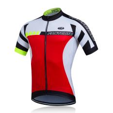 Harga Hemat Fastcute Merek Bersepeda Jersey Pendek Lengan Cepat Kering Kemeja Nyaman Bernapas 3D Cushion Tights Sportswear Fcs 0408
