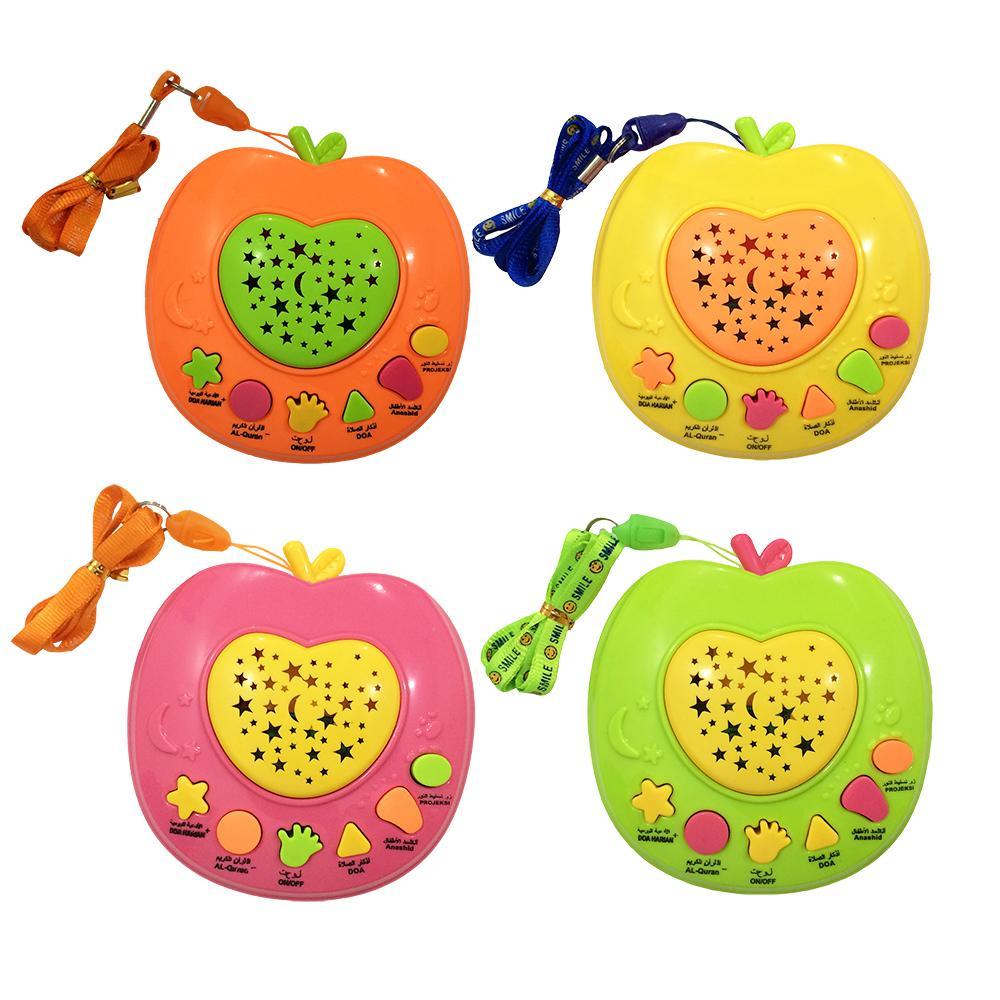 Mainan Anak Edukasi Apple Learning Quran Muslim Holy Quran Machine 6 Tombol Apel Quran Murah By Lyn.