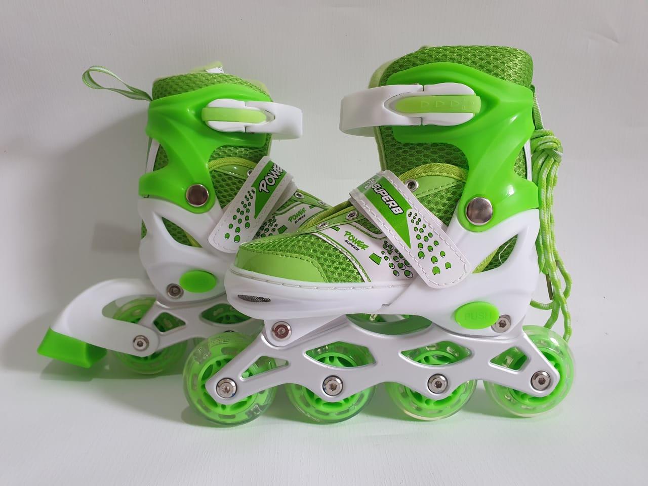 sepatu roda anak inline skate bisa roda BAJAJ