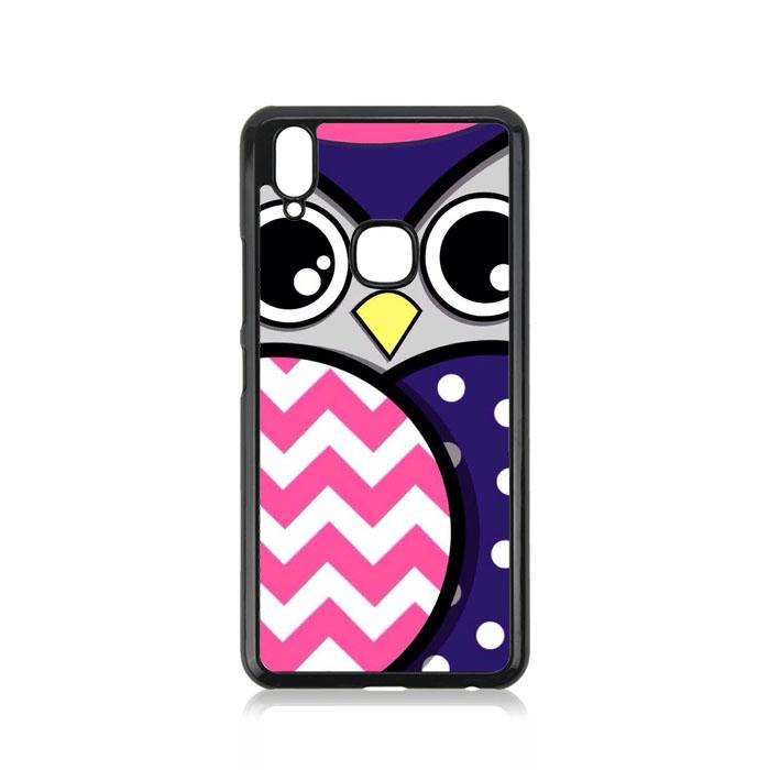 Casing For Vivo Y83 Pro Owl Chevron Polkadot E1755