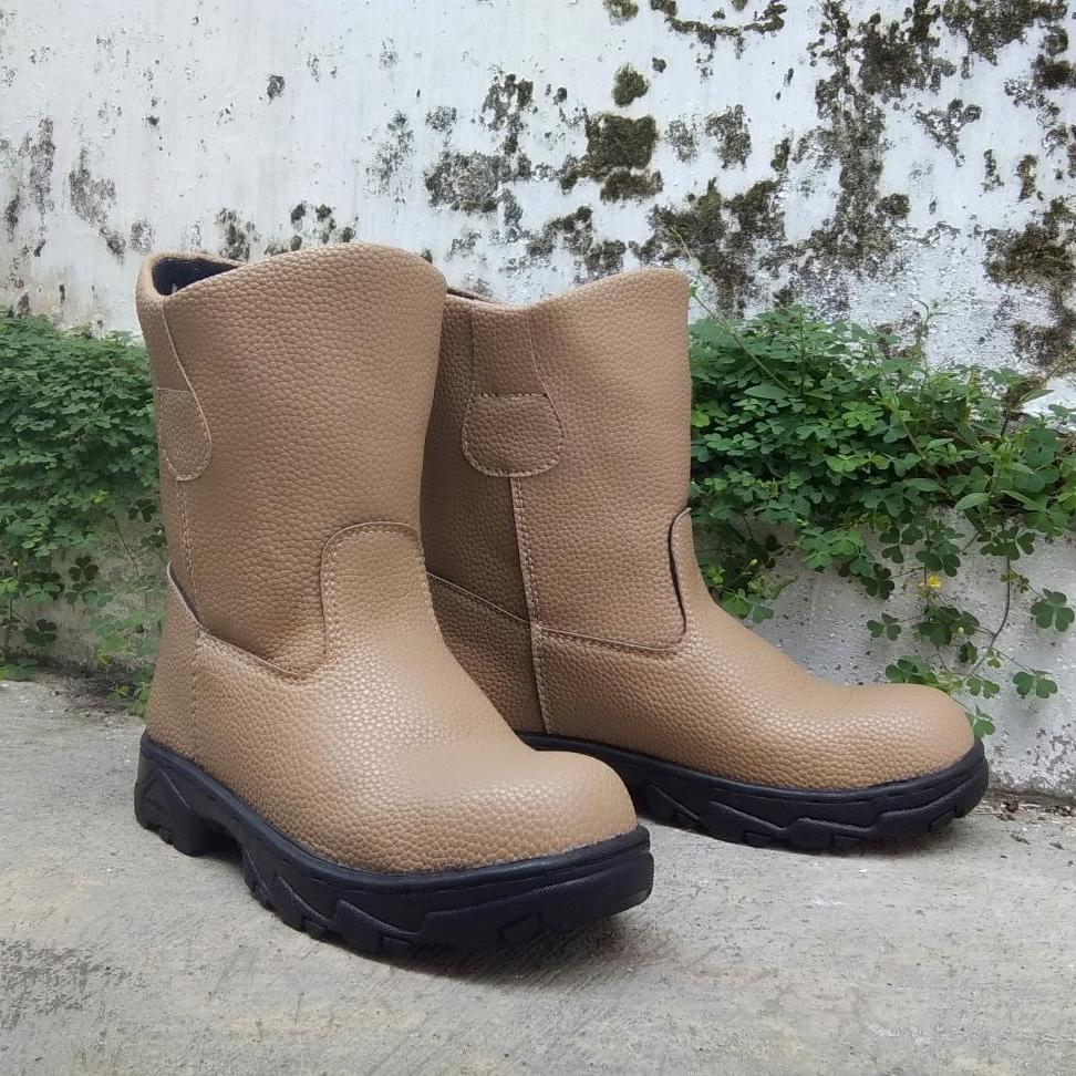 Sepatu Safety Boot Saveti Septi Safeti Jugger King Kingstil Chetah Sepatu Kerja Proyek & Pabrik Berkualitas Harga Terjangkau