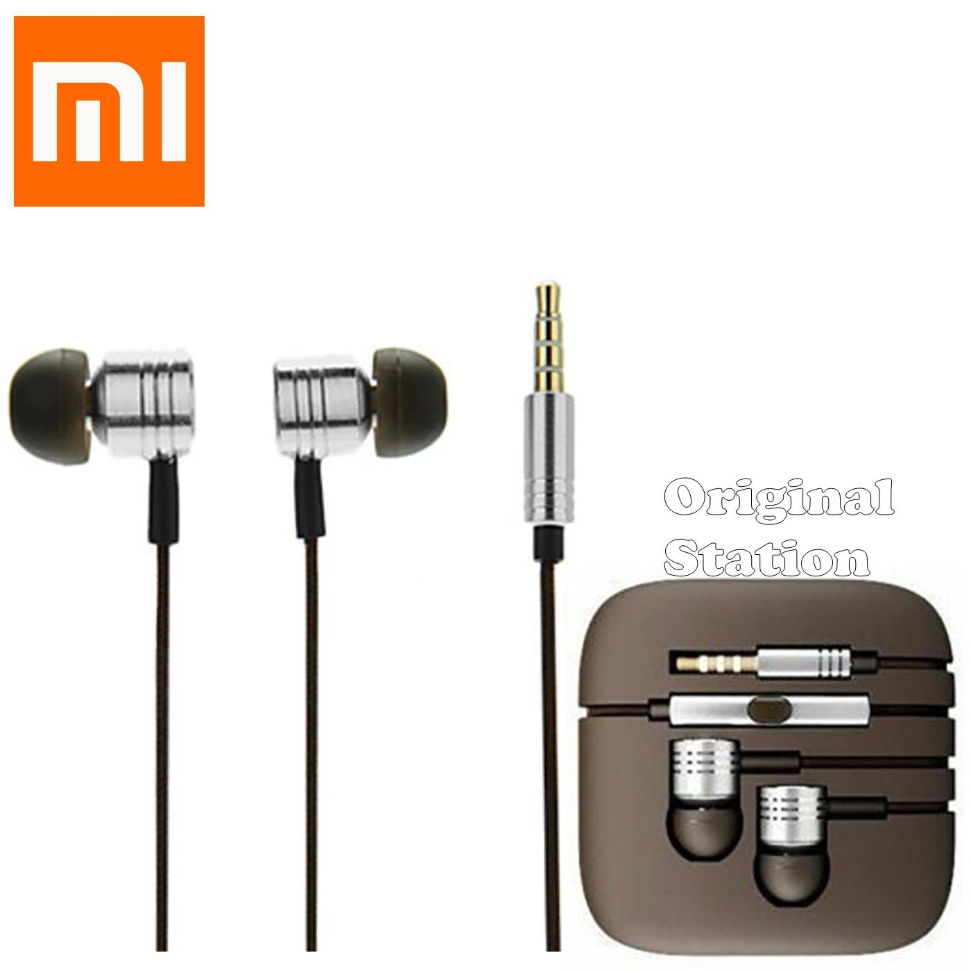 Xiaomi OS Mi Headset With Mic Piston 2nd Silver Color Generation Ear
