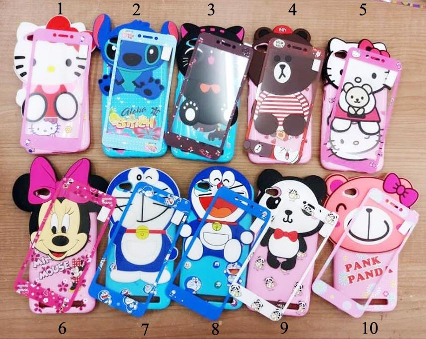 Rp 31.500. Softcase 4Dimensi Karakter BONEKA TIMBUL For OPPO A83 Free Tempered Glass 360 Motif Senada Case - ABSIDR31500