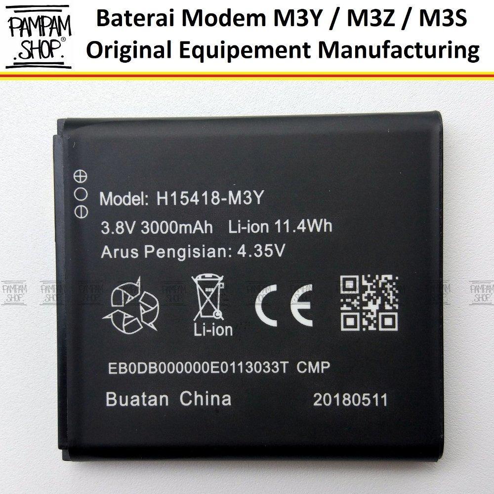 Baterai Modem Smartfren MIFI Andromax M3Y M3Z M3S H15418 Original Double Power 100% OEM Wifi