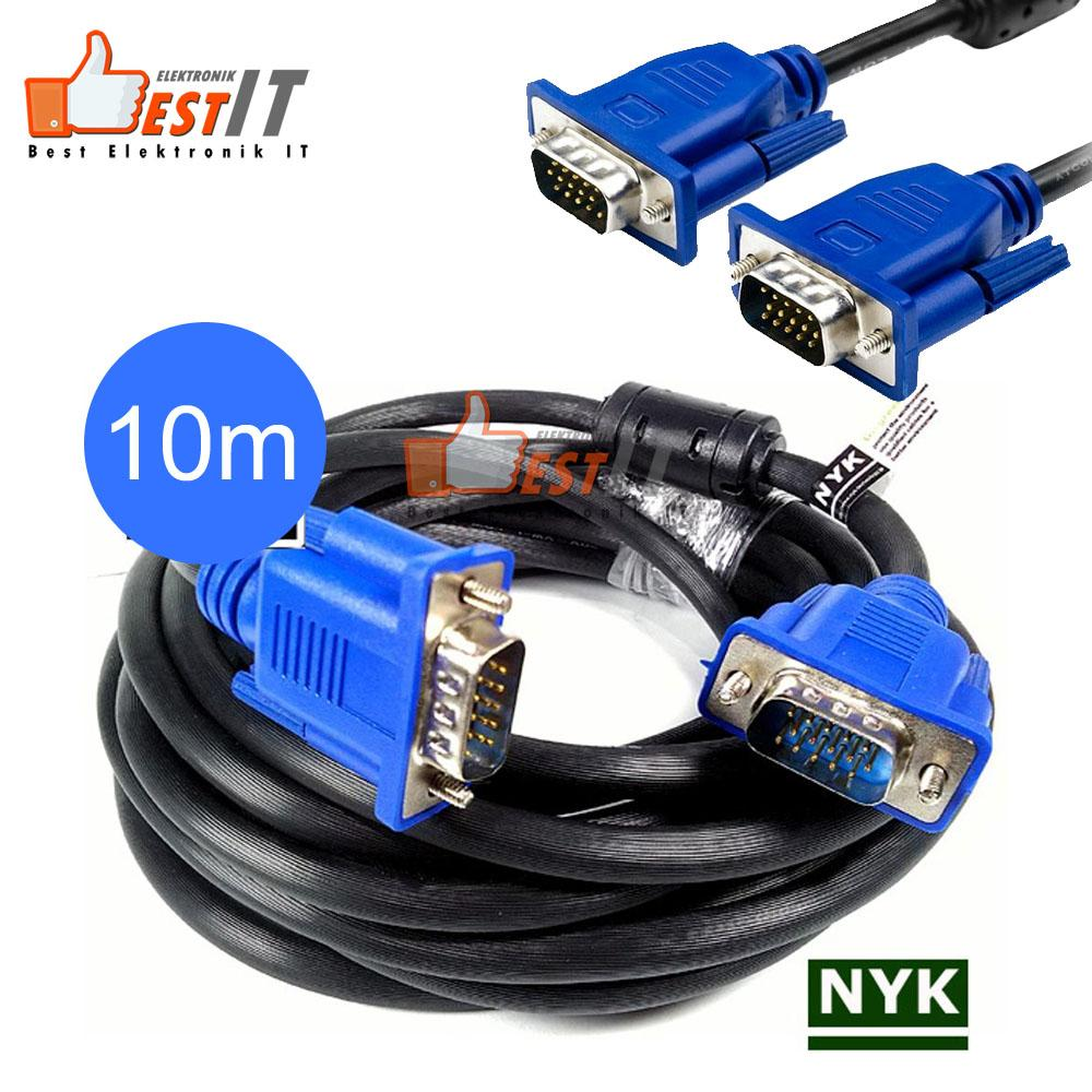 Kabel Vga 10 Meter By Best Elektronik & It.