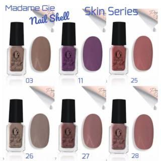 Madame Gie N-Shell Peel Off Skin Series (Satuan) - MakeUp KUTEK SHOLAT KUTEK MUSLIMAH HALAL BISA COD thumbnail