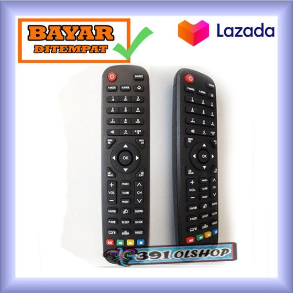 Remot  Tv LED AQUA Sanyo tanpa seting langsung konek