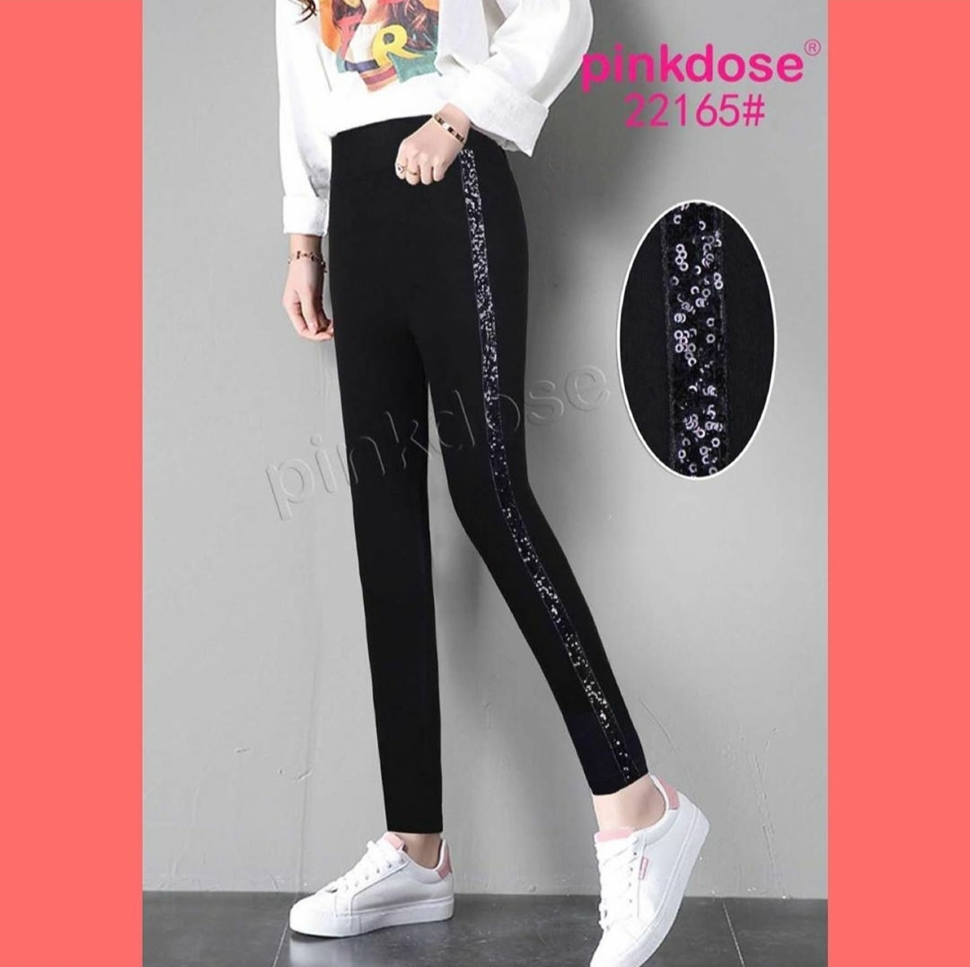 Legging Renda Import Black Motif Garis Putih Legging Import Legging Sport Legging Fashion Legging Murah Lazada Indonesia