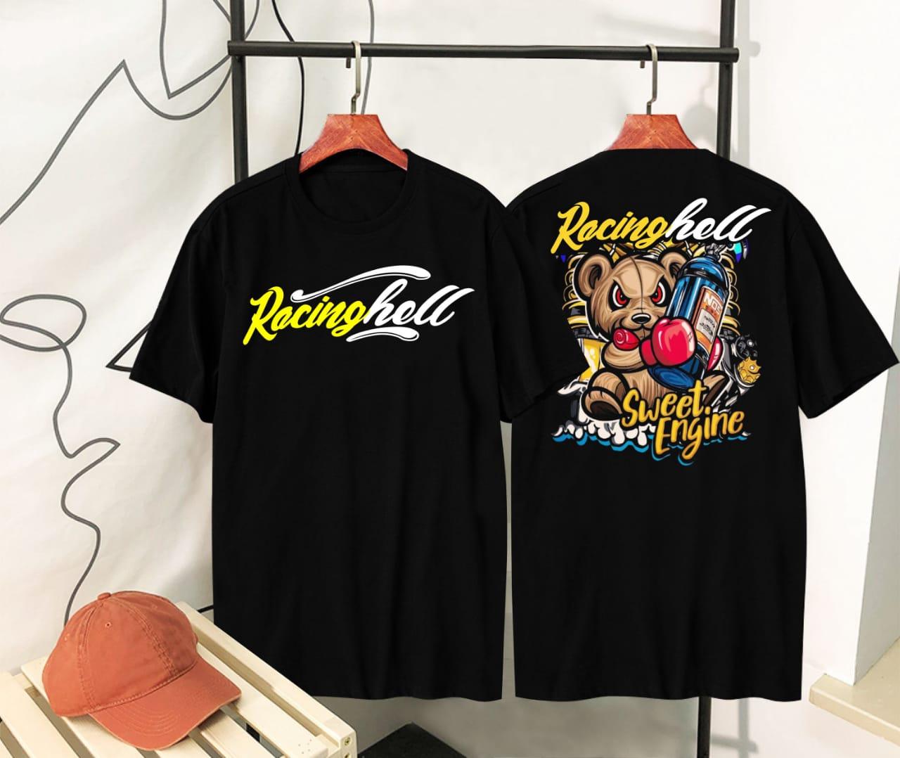 Kaos T Shirt Racing Hell Baju Kaos Oblong Kaos Termurah Dan Diskon Kaos Racing Hell Black Kaos Surfing Kaos Distro Kaos Racing Kaos Terbaru Arw Store Lazada Indonesia