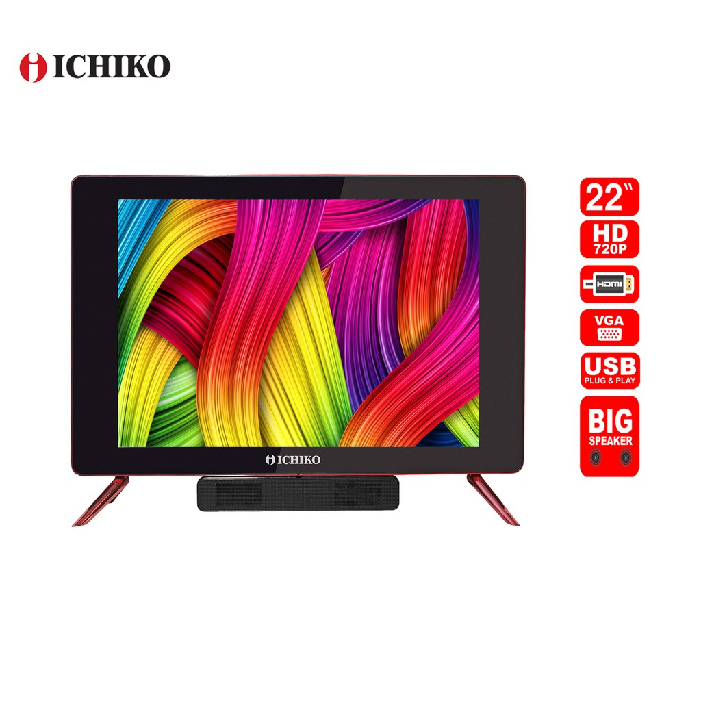 Ichiko S2219 HD LED TV [22 Inch]