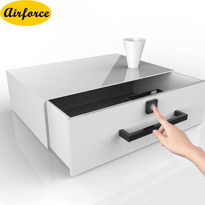 Airforce Smart fingerprint drawer lock file cabinet furniture shoe cabinet Letter box digital printing drawer locks manufacturer