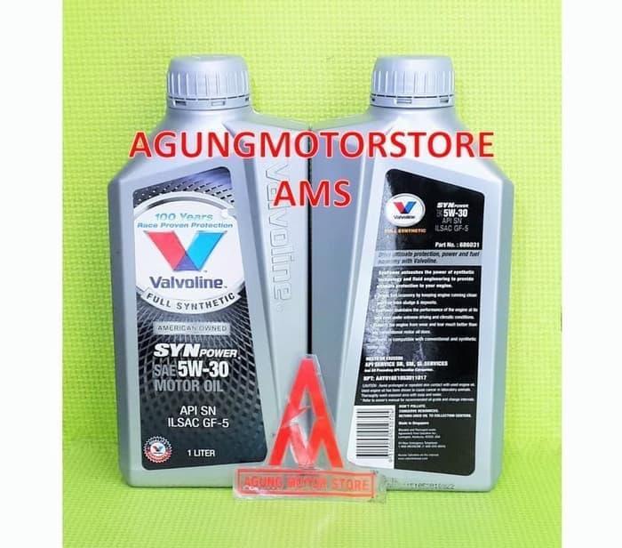 Oli Mesin Mobil Valvoline SYN Power 5W30 Full Synthetic 1 Liter