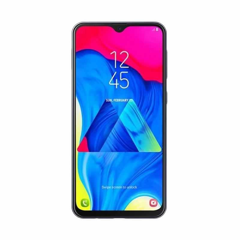 Samsung Galaxy M10 Smartphone [16GB/ 2GB] Dual Back Camera 13+5 MP Full View Display 6.2 Inch Ultra Wide Big Battery 3400 mAh Garansi Resmi TAM