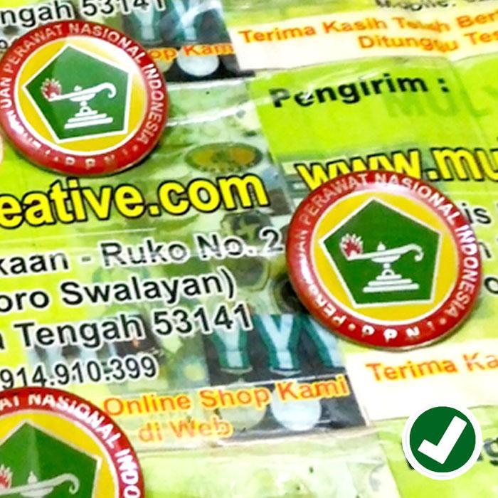 Pin PPNI - Pin Logo Persatuan Perawat Nasional Indonesia / 5pcs
