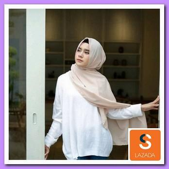 Kerudung Pasmina Jilbab Pasmina Hijab Pasmina Polos Basic Panjang Jilbab Diamond Italians / Diamond Crepe - hijab pashmina/hijab sabyan/hijab instan/hijab segi empat/hijab syari/kerudung syari/kerudung pasmina/hijab sport