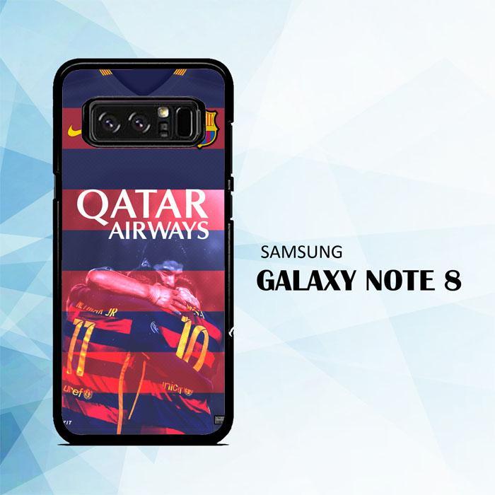 Casing For Samsung Galaxy Note 8 Barcelona Qatar Airways Football Club Team L1979