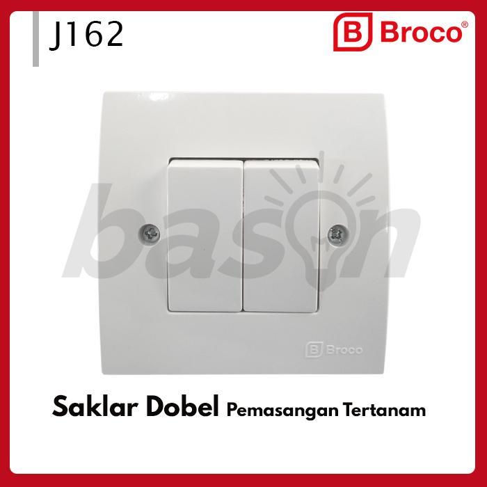 Broco J162 Neu Ray Double Switch - Saklar Seri