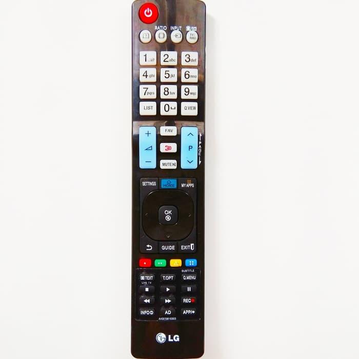 Remote Control Led Tv LG Khusus 3D Model Panjang - ORIGINAL