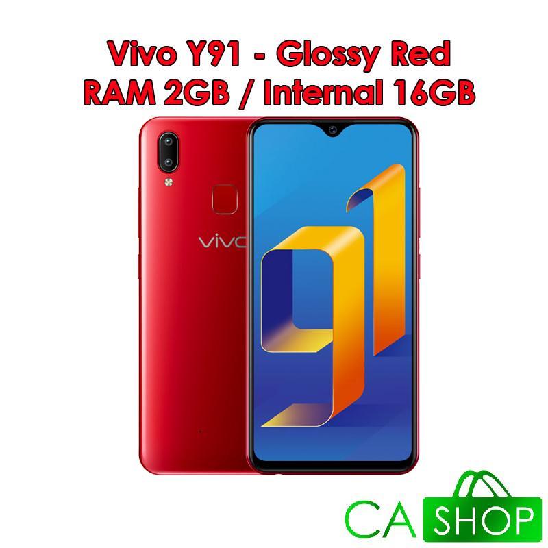 Vivo Y91 - 2GB 16GB (2/16) - Starry Black / Glossy Red - Baru NEW - Resmi