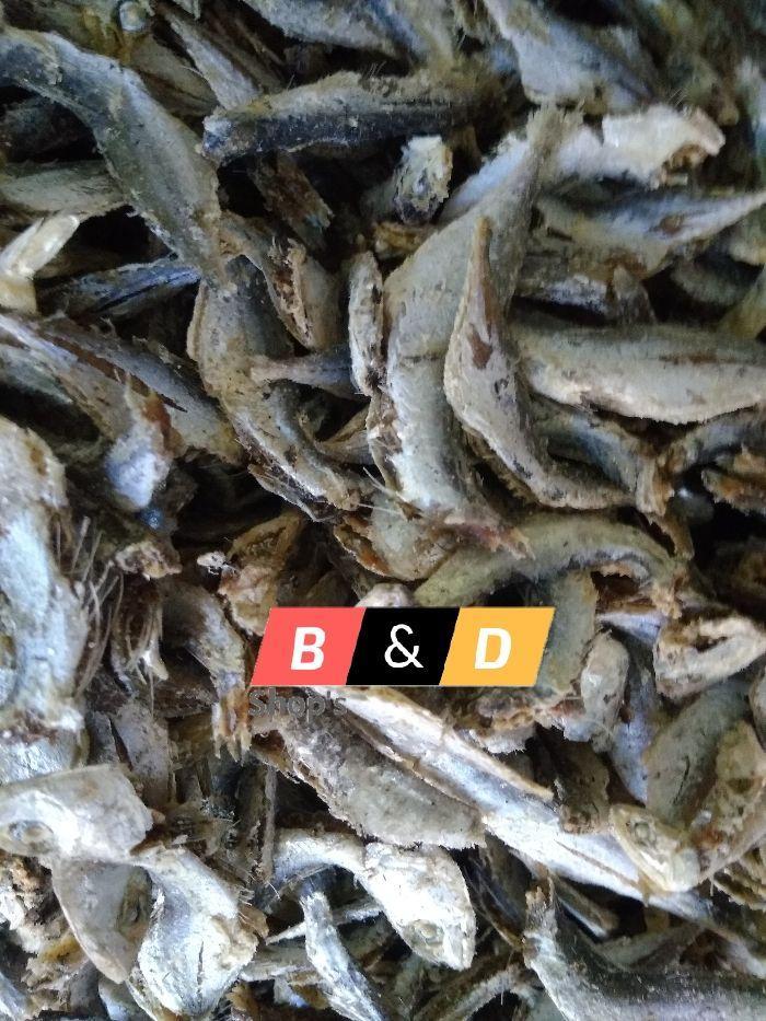 Ikan Asin Rebus Baby Selar Atau Selar Lemet Netto 1 Kg.