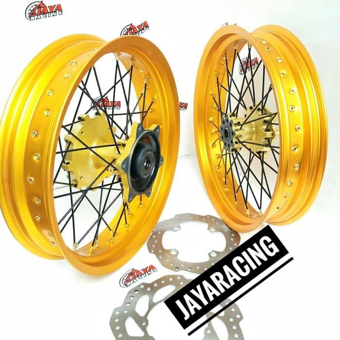 Velg Supermoto Ring 17 L 350 300 Honda Crf 150 L Sepket Lngkp