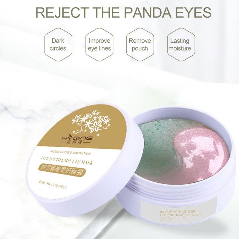 Lorzi Mới 60 Chiếc Mặt Nạ Mắt Gel Ngăn Ngừa Nếp Nhăn Miếng Bịt Mắt Ngủ Miếng Che Mắt Collagen Mặt Nạ Dưỡng Ẩm Cho Mắt Mặt Nạ Mắt Chăm Sóc giá rẻ