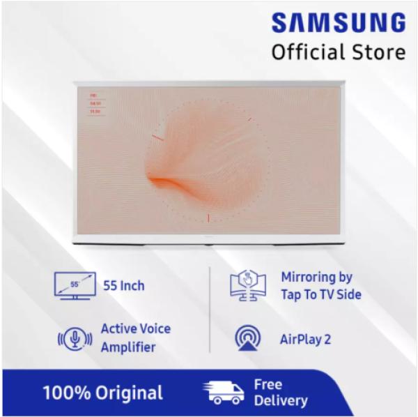 Samsung The Serif QLED 4K Smart TV 55   - QA55LS01TAKXXD (2020 Model)