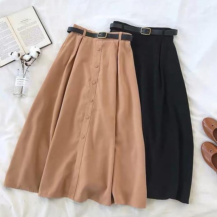 NELLA Skirt Rok Bawahan Wanita Muslim Panjang Suplier Pakaian Hijab  Termurah Terbaru Fashion Cewek Modis Trendy fed77cf3e9