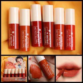 [1BUAH SATUAN] Lipcream Kiss Beauty Matte Color Kode 70456-03 Grosir Kosmetik thumbnail