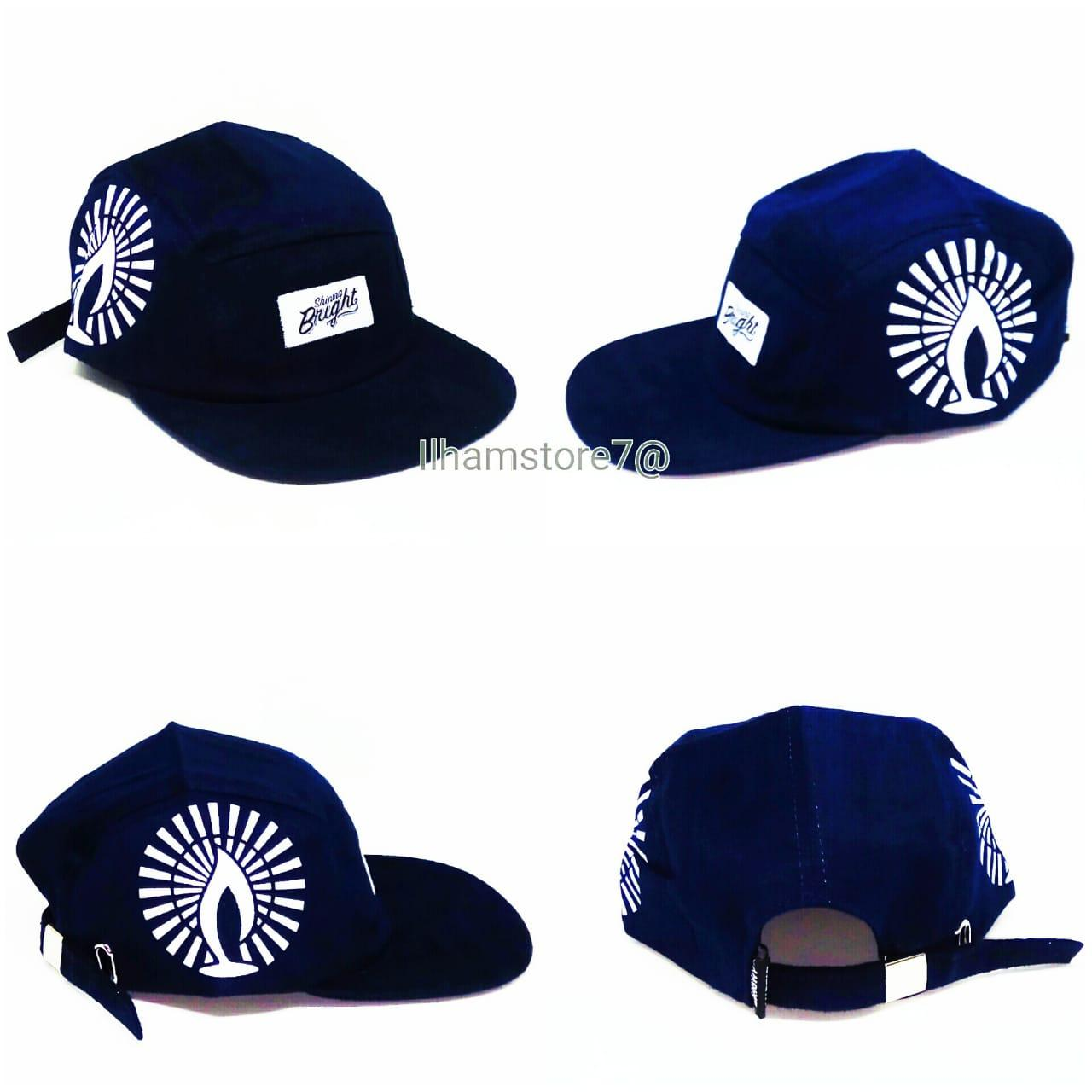 Topi distro pria topi snapback Rappel premium new model style fashion and  modis Topi e11eb143ef