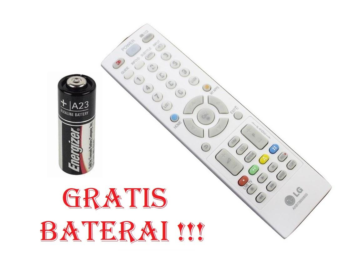 Remote remot TV LG LCD / LED PLASMA AKB73975733 - Hitam_RBshop