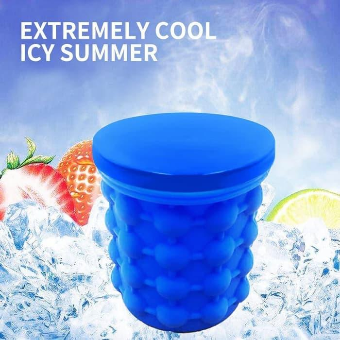 Ice Magic Silicone Ice Cube Ice Storage Tempat Es