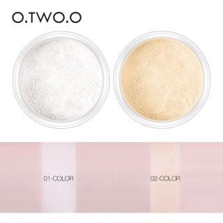 O.TWO.O 2 Colors Loose Setting Powder Make Up Silky Smooth Translucent Powder - Bedak Tabur - Makeup thumbnail