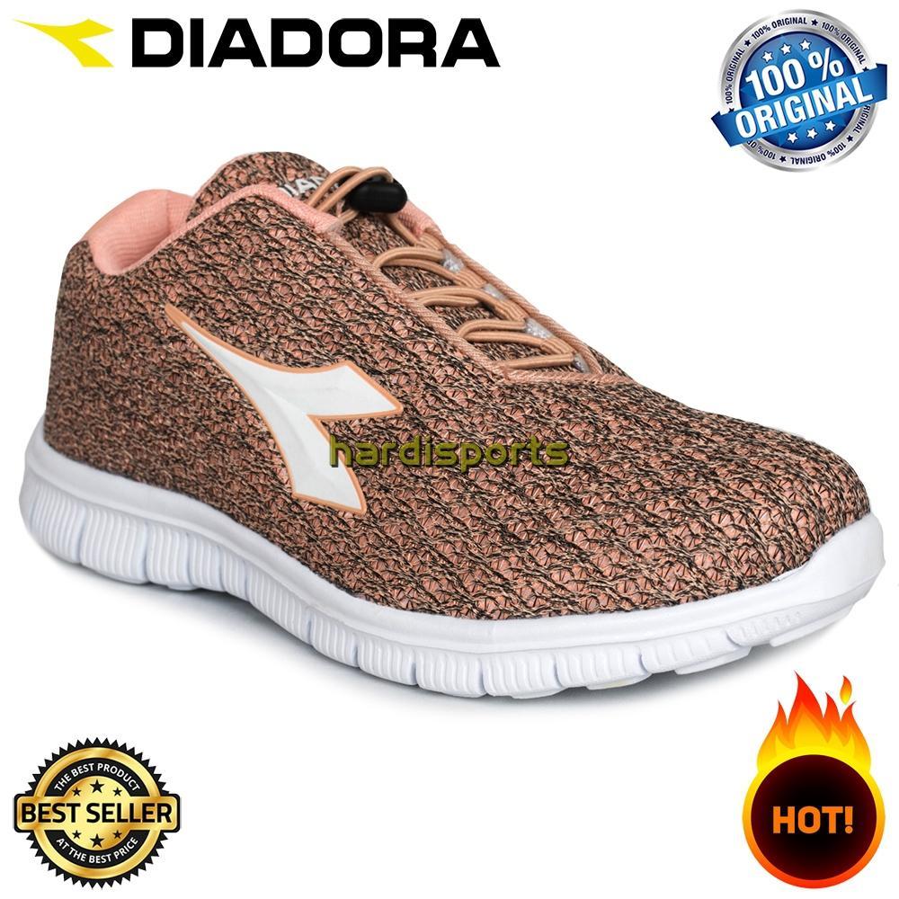 Sepatu Running Anak Wanita Diadora Dairen JR (G) DIAX7F09002DP - Orange 6d7fc36fed