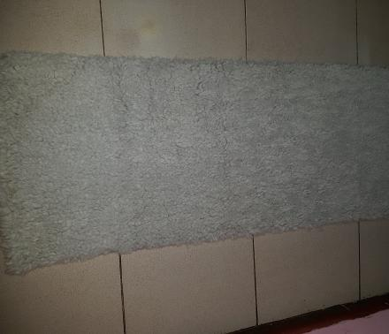 BEST SELLER !! karpet abu bulu domba ukuran 50x130.. Karpet Bulu Best Seller