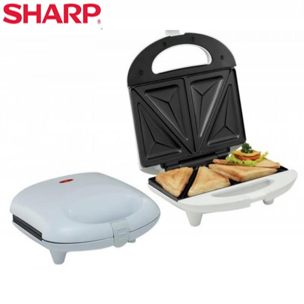 Sharp Sandwich Toaster Kzs - 70 L(w) Garansi Resmi By Java Elektronik.