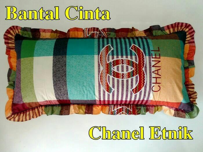 bantal cinta gucci/LV/chanel/selimut/sprei/baju/kasur bayi