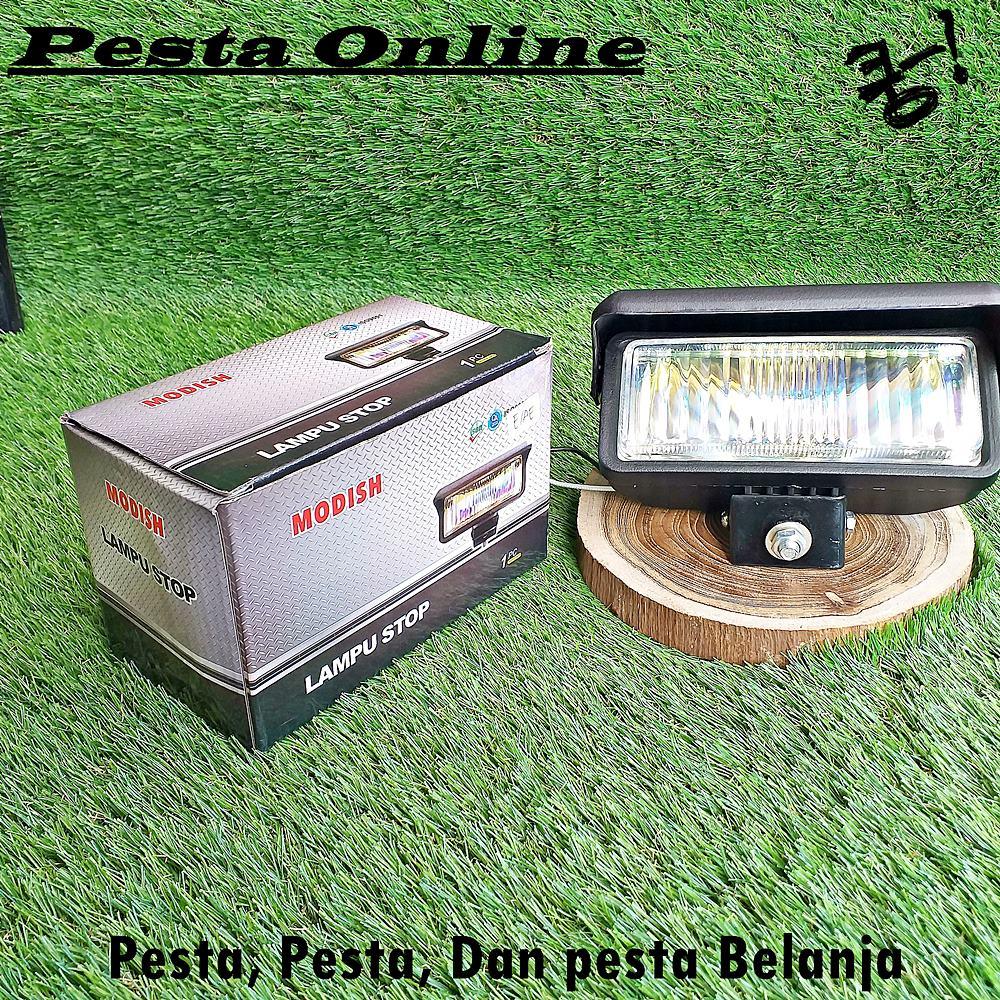 Lampu Motor Reflektor Depan RX KING Halogen Headlamp Kabut Tembak Foglamp 1 Pasang