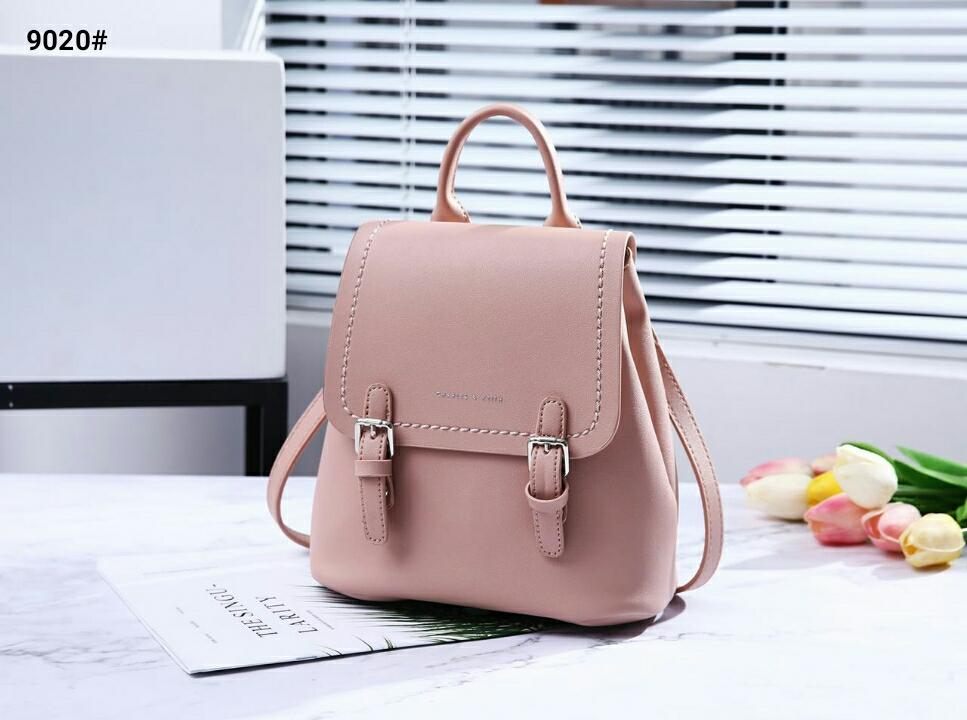 tas wanita charles   keith ransel backpack import casual simple new arrival  hot item batam murah 5735699d84
