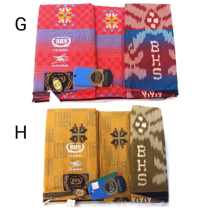 Terlaris  Sarung BHS Classic Songket Original Murah Premium (ASLI) Bukan Afkir