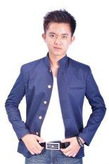 Review Fesyen Zone Blazer Crowsblue Di Indonesia