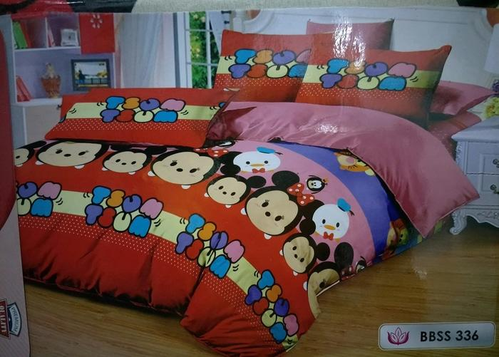 Sprei/seprai Katun Tsum Tsum/kuda Pony/little Pony Uk 120x200/single By Nemo Store.