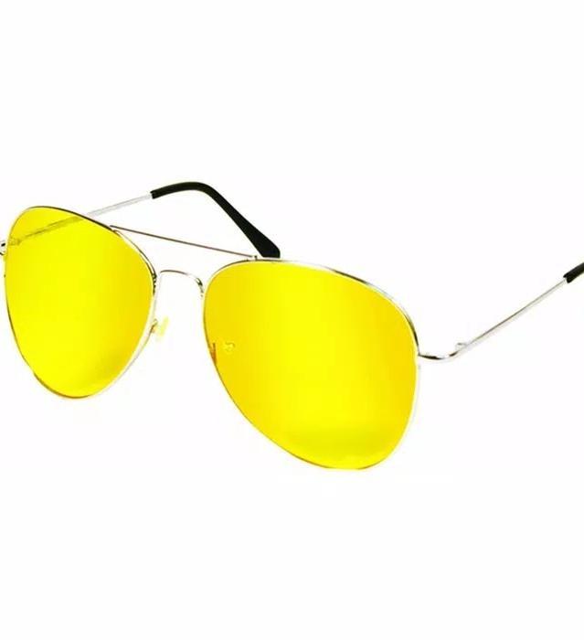 Kacamata Malam Anti Silau - Kuning By Auraalby Shop.