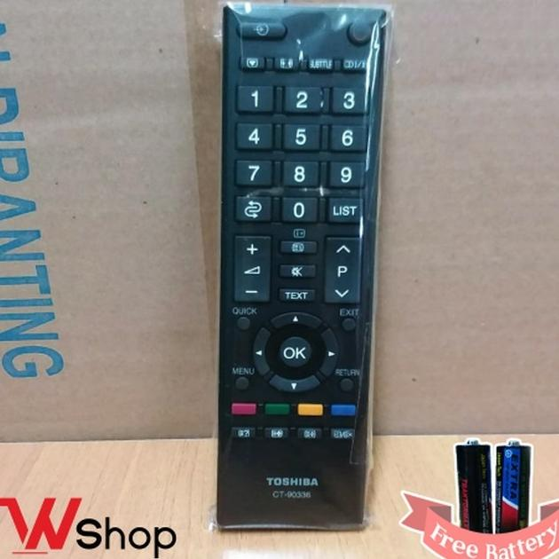 REMOT/REMOTE TV LCD/LED TOSHIBA ORIGINAL